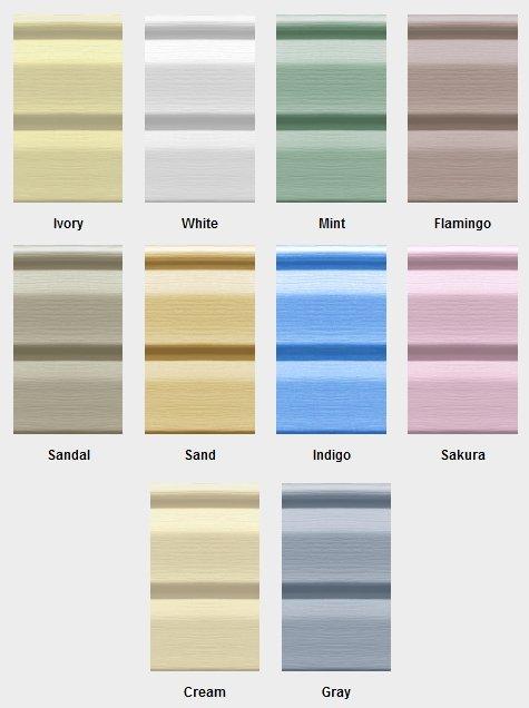 Цветовая гамма Нордсайд